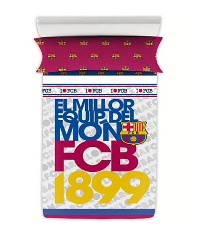 FC Barcelona Juego de Sábanas Escudo