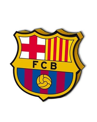 FC Barcelona Cojín con Relleno Escudo