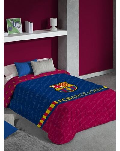 FC Barcelona Edredón Estampado Escudo
