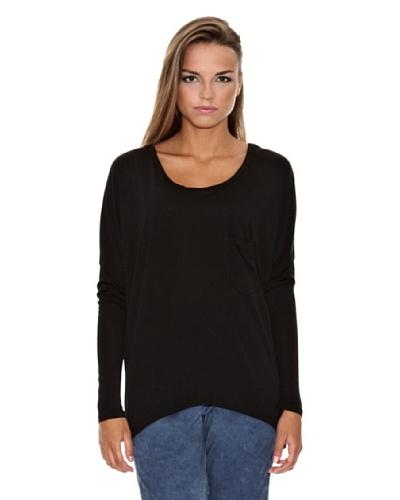Firetrap Camiseta Alhelís Negro