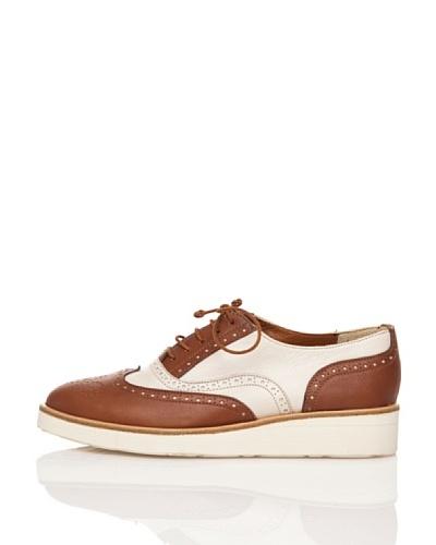 Flavio Menorca Zapatos Cloe Lisos Cuero / Marfil