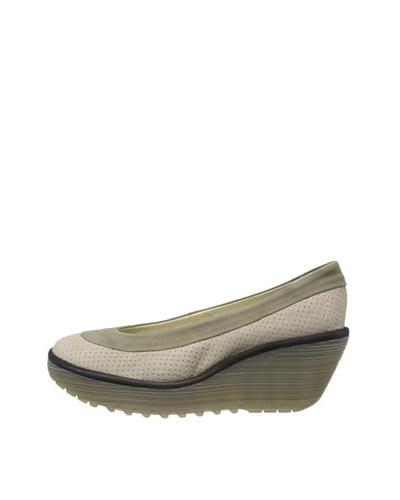 Fly London Zapatos Pianezza Gris Claro / Caqui / Negro