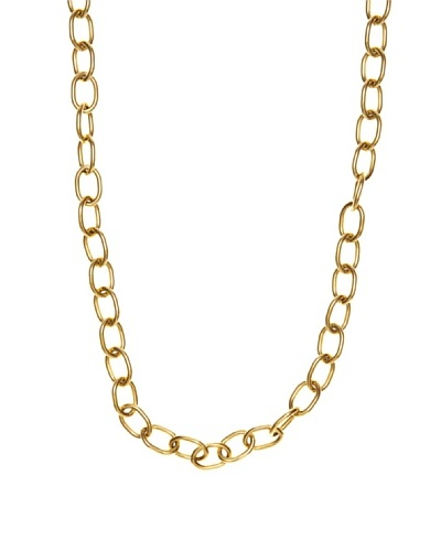 Folli Follie Collar Eslabones Dorado