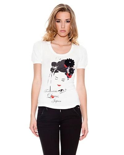 Fornarina Camiseta Birch Bis Blanco