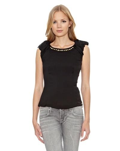 Fornarina Camiseta Laile-Black Polyester Top