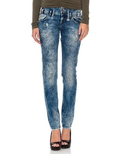Fornarina Vaquero Kitty Strech denim Azul