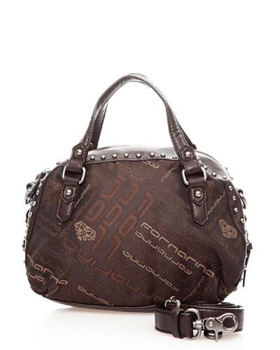 Fornarina Bags TYLER B624N191 – Bolso de mano de nailon para mujer