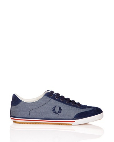 Fred Perry Deportiva Newington Chambray/Suede
