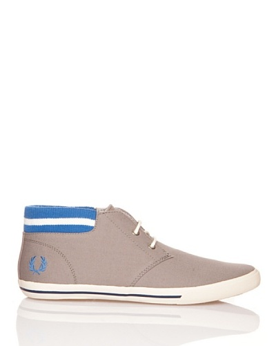 Fred Perry Deportivas Botín Byron Mid Collar Canvas