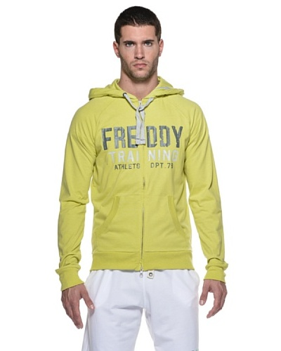 Freddy Sudadera Research Cappuccio Zip