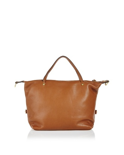 Free for Humanity Bolso Piel Shopping Camel