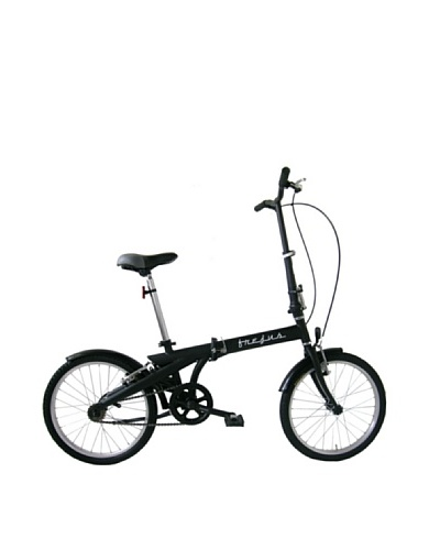 Frejus Bicicleta Plegable Negro