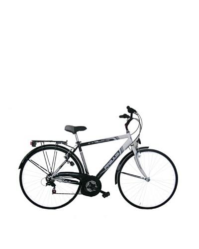 Frejus Bicicleta Trekking Negro / Plata / Azul