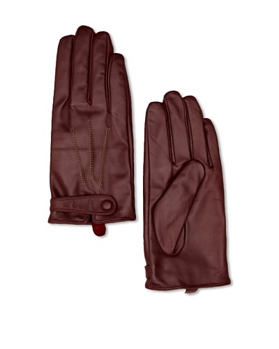 French Connection Guantes Marylise Granate