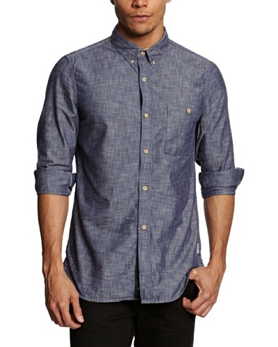 French Camisa Shelby Azul