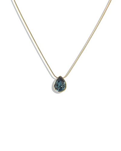 Frou Frou Bijoux Collar Goutte Dorado/Azul