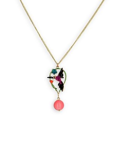 Frou Frou Bijoux Collar Birdy Rosa