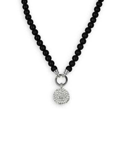 Frou Frou Bijoux Collar Boule Swarovski Negro / Transparente