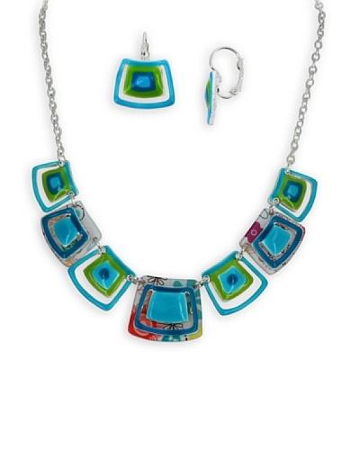 Frou Frou Bijoux Conjunto 60'S Azul