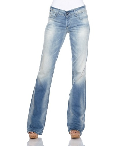 Fuga Jeans New Mothe Light Bootcut Azul Denim
