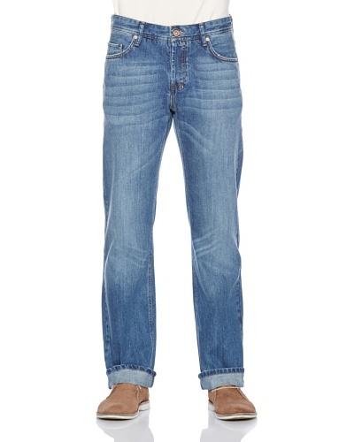 Fuga Pantalón Cortez Straight Azul Medio