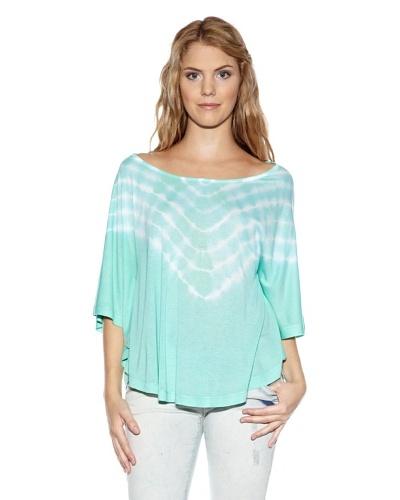 Fuga Camiseta Lily Verde Agua
