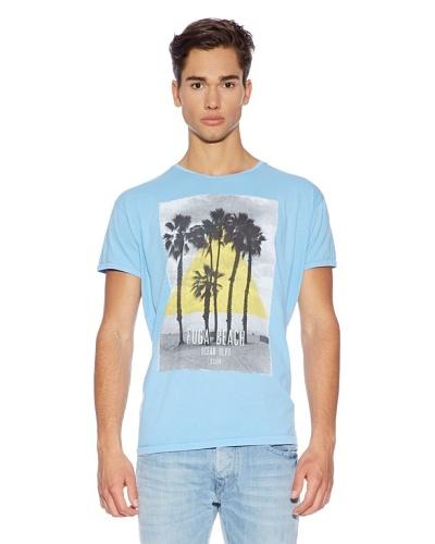 Fuga Camiseta Aleson lagoon Azul Claro