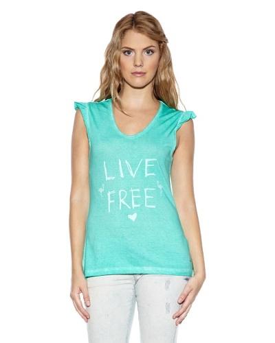 Fuga Camiseta Dolphin Turquesa