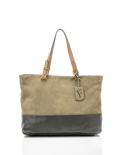 Furla Bolso Shopping Dais Beige/Gris