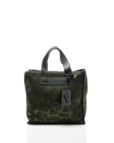 Furla Bolso Divide It Verde militar