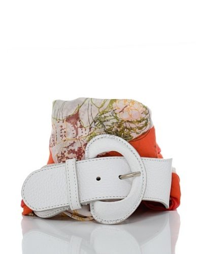 Furla Cinturón Silene Blanco