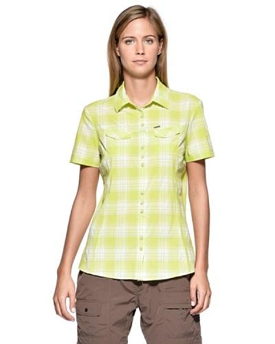 Fusalp Besace Car Camisa Verde/Blanco