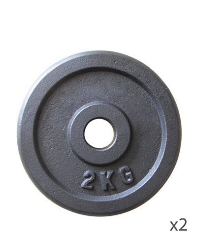 FYTTER Pack 2 Discos Barra 2 Kg CG0094
