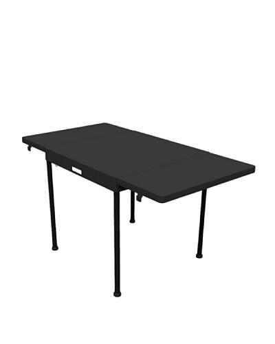 Garden Life Mesa alta extensible (70+30+30)x70x74. Patas aluminio, tapa resina. Pack maleta