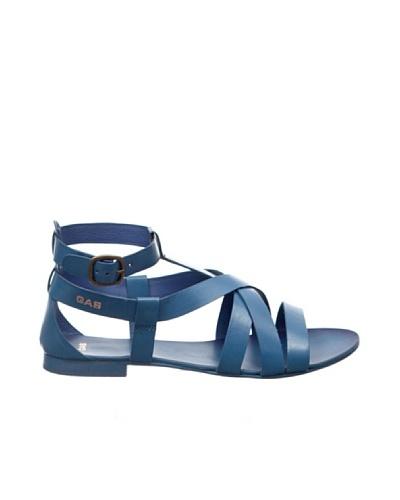 Gas Sandalias Queen Azul