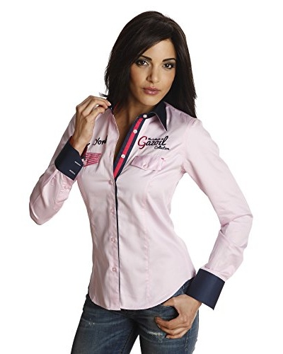 Gazoil Camisa New York Rosa