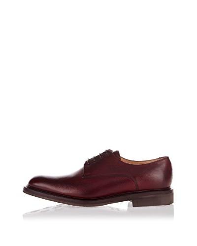 George Webb Zapatos Derby Barnes Cereza