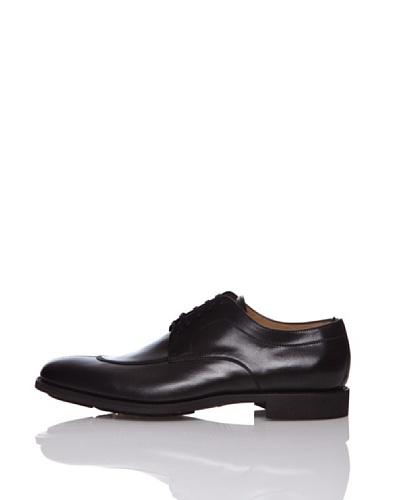 George's Zapatos Derby Noruego Negro
