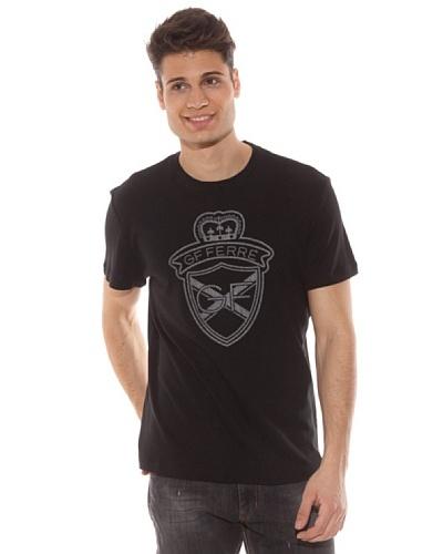 Gianfranco Ferré Camiseta Estampado Negro
