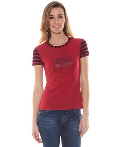 Gianfranco Ferré Camiseta Logo Rojo