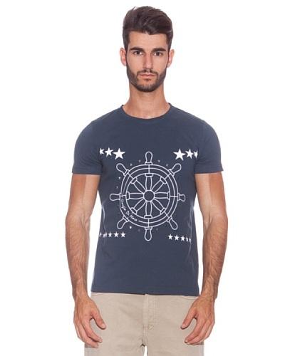 Giorgio Di Mare Camiseta Cardiff Azul Marino