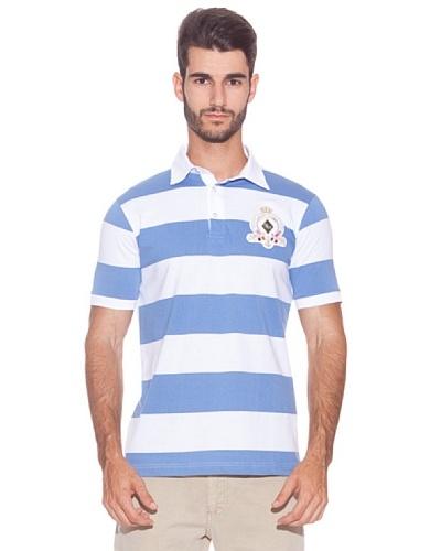Giorgio Di Mare Polo Palmdale Blanco / Azul