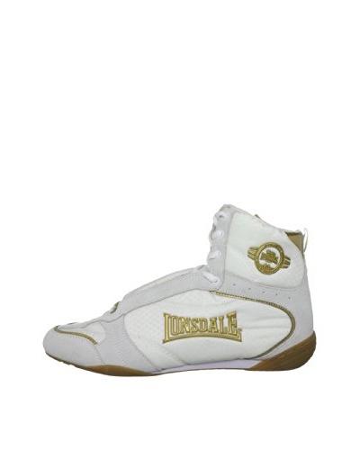 Lonsdale Zapatillas Rapid Trainer Blanco / Oro
