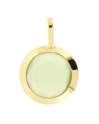 Gold & Diamond Colgante 4 Estaciones Verde
