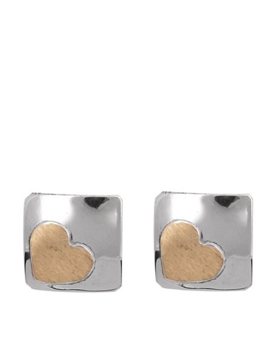Gold & Diamond Pendientes Planet