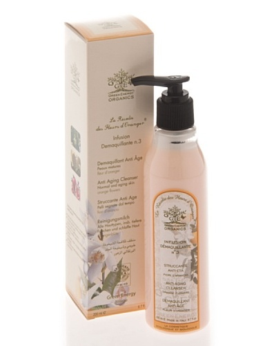 Green Energy Organics Leche limpiadora Desmaquillante Nº 3 Anti-Envejecimiento 200 ml