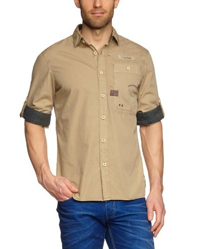 G-Star Camisa Norwalk Caqui
