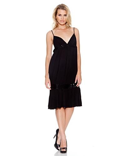 Guess Vestido Carena Negro