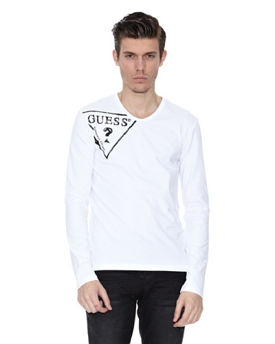 Guess Camiseta Amedeo Blanco
