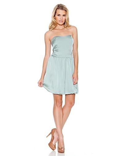 Guess Vestido Amanda Azul Claro